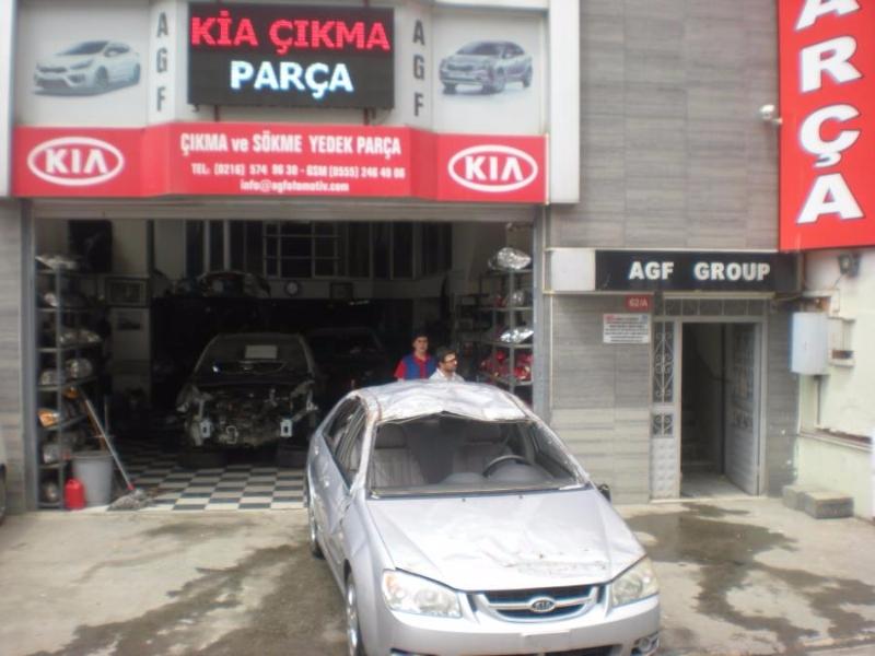 KIA CERATO 2006 MODEL HURDA BELGELİ ARAÇ YEDEK PARÇALARI